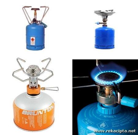 Rekacipta Contoh Dapur Butana Mudah Alih