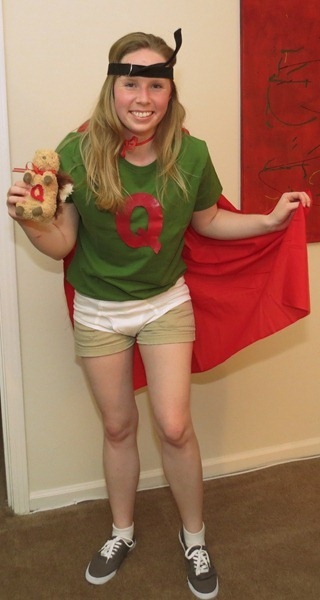 Hello Kirsti: Quailman Costume from Doug Quailman Costume