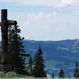 Kreuz am Mittelpunkt der Schweiz