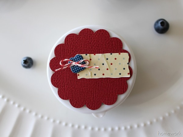 Easy Patriotic Berry Cups via homework04