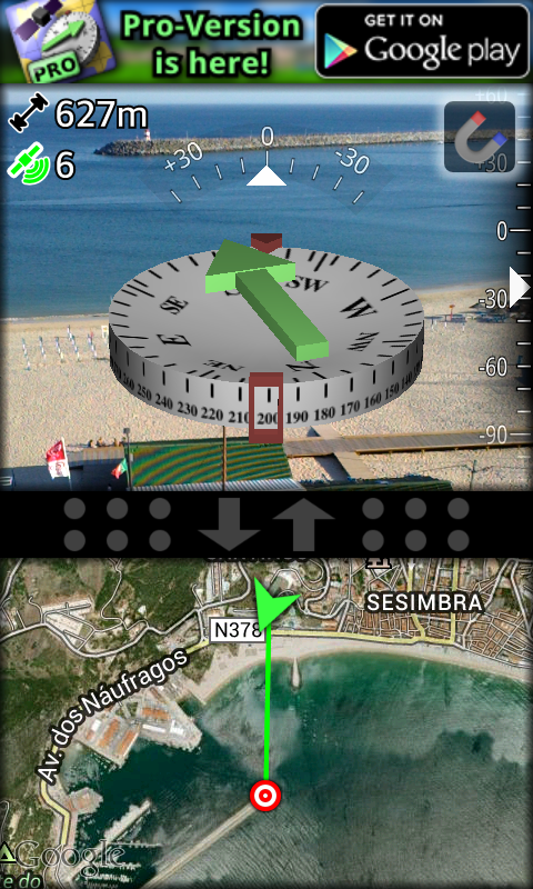 AR GPS Compass Map 3D- screenshot