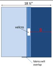 measuring for velcro part 2 moire detail