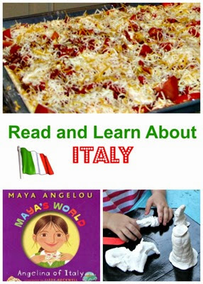 Read and Learn About Italy from Planet Smarty Pants