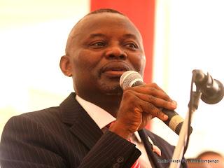 Vital Kamerhe, député national et président de l'UNC ce 28/07/2011 à Kinshasa, lors du premier congrès ordinaire de son parti politique. Radio Okapi/ Ph. John Bompengo