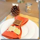 yellow and orange Thanksgiving tablescape-napkins