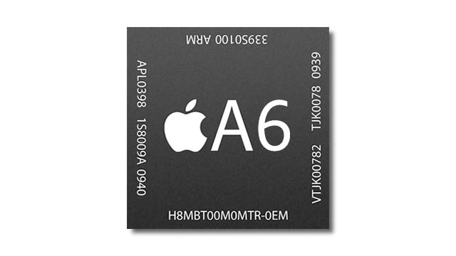 Apples A6 CPU