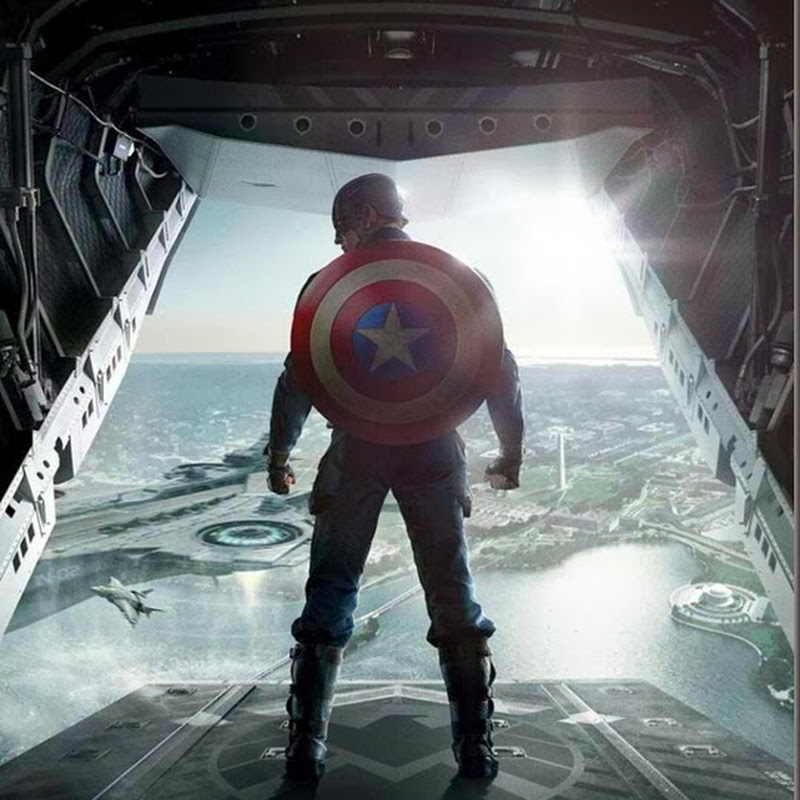 "New Poster Arrives for ""Captain America: The Winter Soldier"""