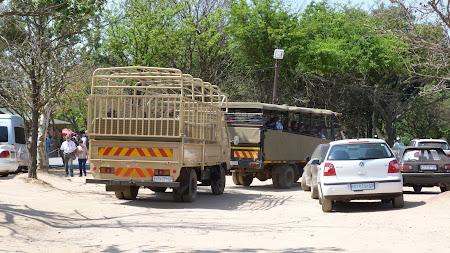 camion safari Africa de Sud