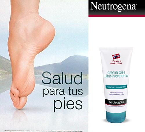 neutrogena para pies