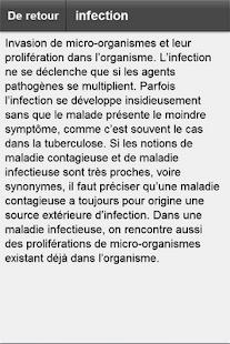 Dictionnaire médical- screenshot thumbnail