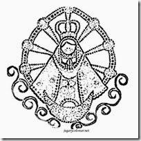 Colorear Dibujos Virgen De Luján
