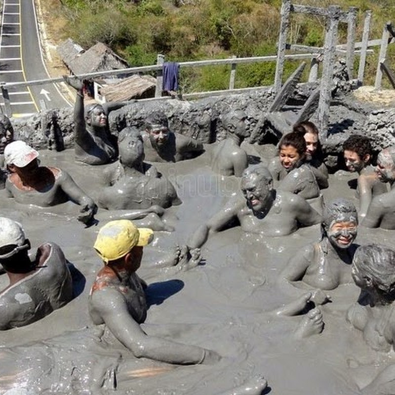 The Awkward Mud Bath at El Totumo Mud Volcano