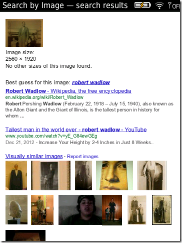 Search by Image — Step 3. Here they are, the search results!