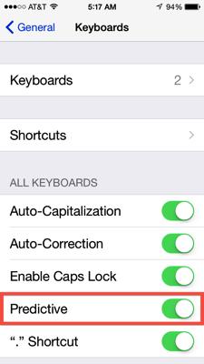 Predictive keyboard 04