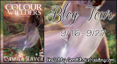 {Giveaway} The Colour Wielders by Dawn Raver