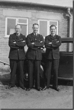 PC Joe Millican, a Scottish Instructor, PC Jock Murphy, Aycliffe HQ?  Year?  Car?