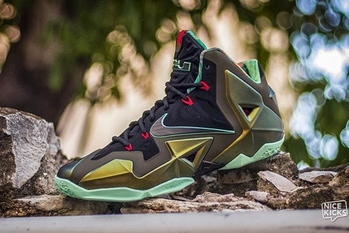 c21d01ad7386 Nike Lebron 11 Kings Pride Ds New Sneakers