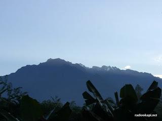 Vue du Rwenzori (Ruwenzori), Virunga, 2005.