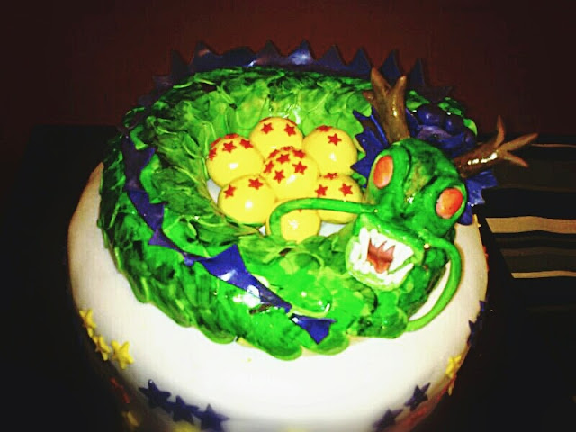 bola del drac, tarta dragon ball, dragon ball cakes