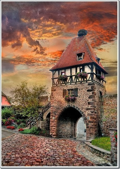 Chtenois-Alsace-France