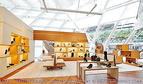 Louis Vuitton Island Singapore Woman Shoes Gallery