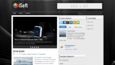 Isoft blogger template 225x128
