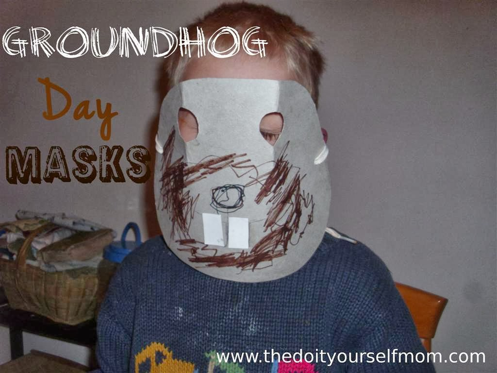 The do it yourself mom groundhog holiday preschool craft groundhog groundhog holiday preschool craft groundhog masks solutioingenieria Gallery