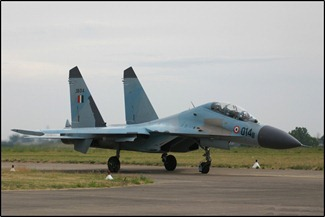Sukhoi Su-30 MK-1 / K, earlier flown by the Indian Air Force [IAF]