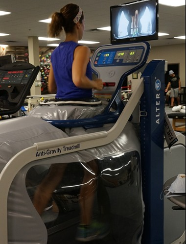 Running in the AlterG