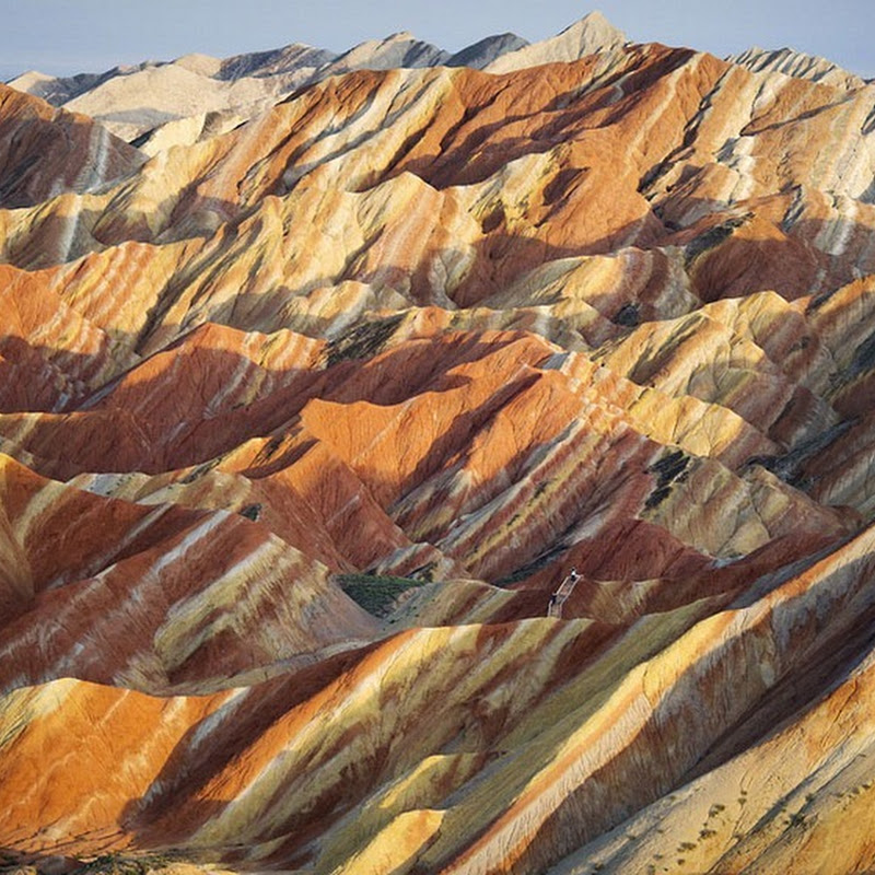 Colorful Danxia Landforms of China
