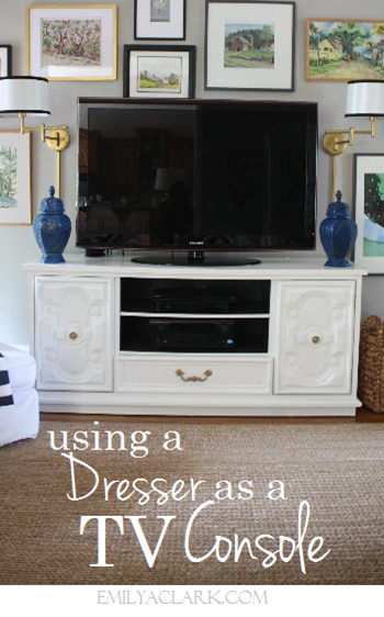 using-dresser-as-TV-console