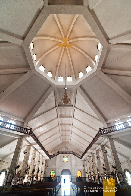 Danao Church's Interesting Ceiling