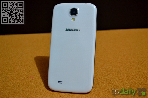Samsung Galaxy S4 Review Back
