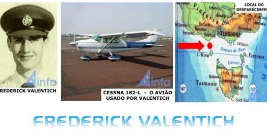 ABDUÇÃO: O misterioso desaparecimento de Frederick Valentich apos relato de OVNI (Vídeos)