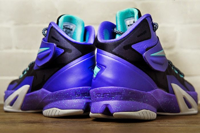 "sports shoes 2e994 32144 Nike Zoom Soldier 8 ""Cave Purple"" aka ""Summit Lake ..."