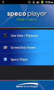 Speco Player- screenshot thumbnail