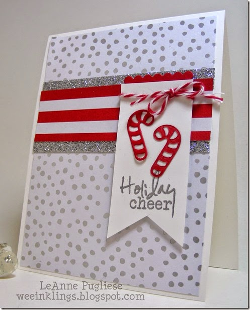 LeAnne Pugliese WeeInklings Merry Monday Verve Impression Obsession Christmas Stampin