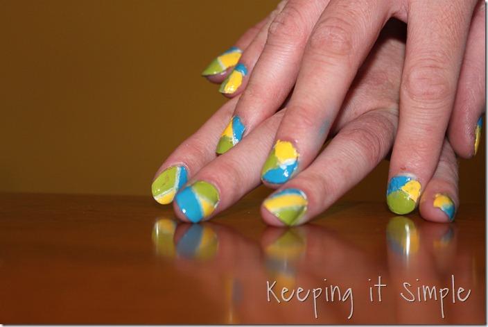 color blocking nails (16)