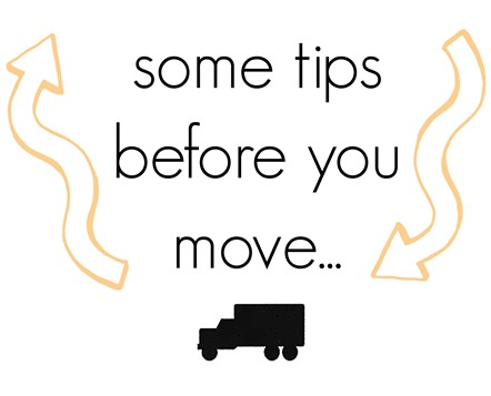 great moving tips!