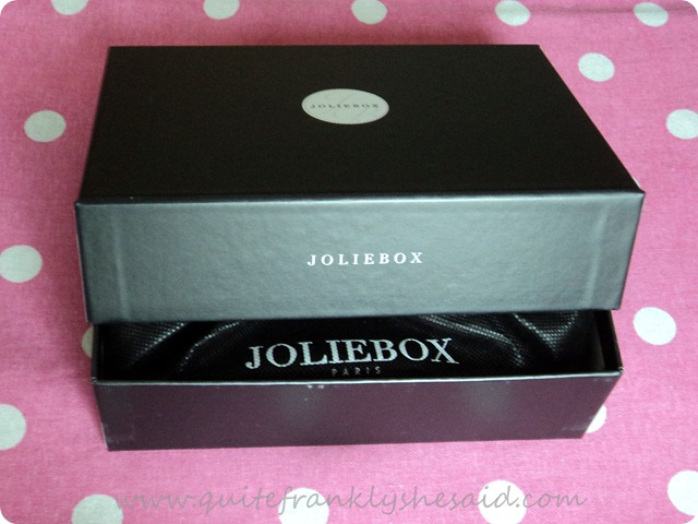 October Joliebox Beauty Box