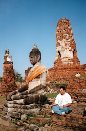 Imagini Ayutthaya: statuia lui Buddha