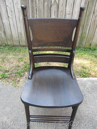 antique pew chair restoration (28)