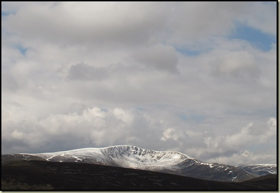 Glas Tulaichean from Carn Mor