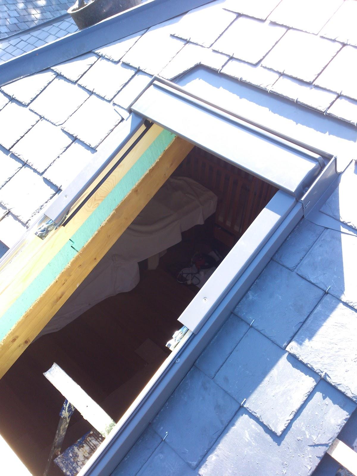 Reparaci n de tejados de pizarra andres ramos tejado de pizarra en galapagar madrid - Cubierta de pizarra ...