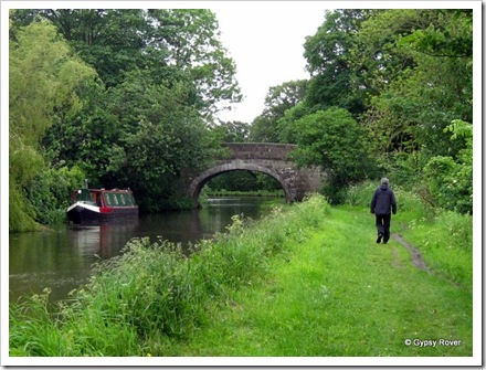 Bridge 88 Lancaster Canal no Gypsy Rover just Derek.
