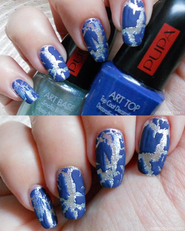 PUPA NAIL ART KIT aquamarine safari blue