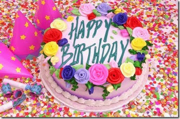 Happy Birthday Cake - from Microsoft Office free images