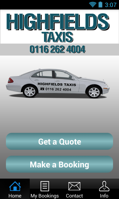 Highfields Taxis- screenshot