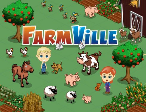 FarmVille para Iphone e Ipad