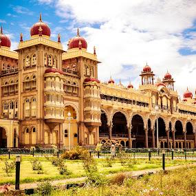 Mysore Palace by Manoj Swaminathan - Buildings & Architecture Public & Historical ( history, mysore, monument, palace,  )